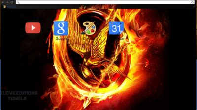 hunger games themes for google chrome the hunger games chrome themes themebeta