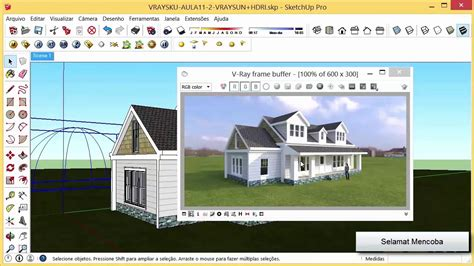 hdri tutorial vray sketchup pdf setting vray sky hdri dan vray dome light sketchup versi