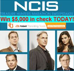Ncis Usa Sweepstakes - usa network ncis win 5 000 in check between march 21 at 6 pm an giveawayus com