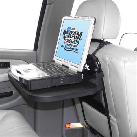 seat back mount ram mount plastic rear seat ram laptop tray