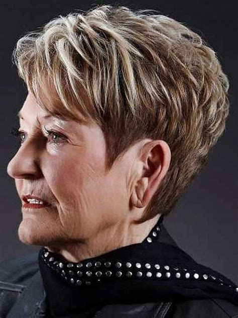 15 Best Short Haircuts For Women Over 70   Short