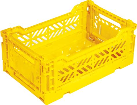 Storage Box 26 5x16x23 5cm Plastic mini box storage rack foldable l 26 5 cm yellow by