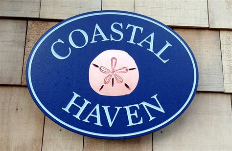 house sign designs coastal haven beach house sign danthonia designs usa