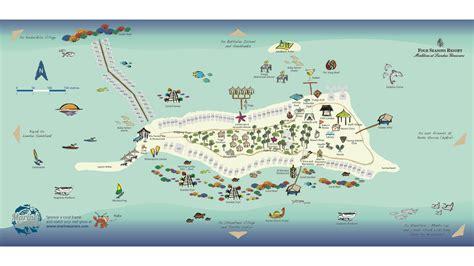 hd resort map maldives resort map four seasons resort at landaa giraavaru