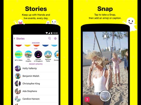 snapchat apps for android snapchat for android gets rewind filter with update swipe to try it out tech tech times