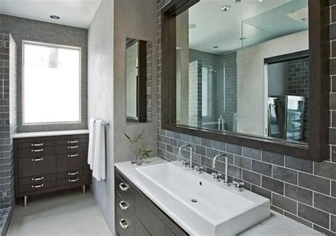 grey bathroom ideas plantas casas low cost