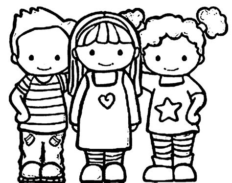 coloring pages with friends best friend free colouring pages