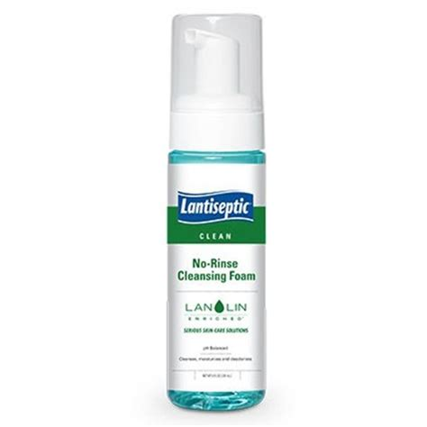 Foamy Urine During Detox by Lantiseptic No Rinse Cleansing Foam At Healthykin