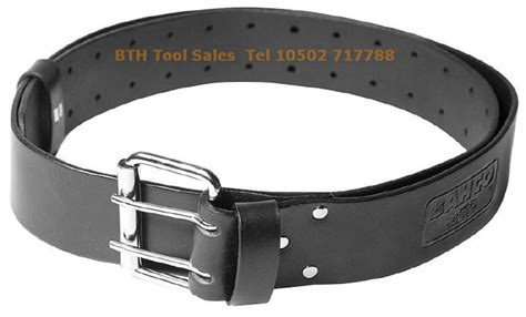 bahco 2 quot black leather scaffold tool belt fits 30 quot to 48