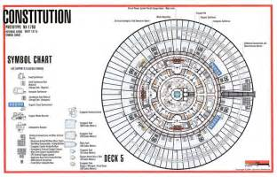 trek enterprise floor plans deck 5 constitution class star trek pinterest decks