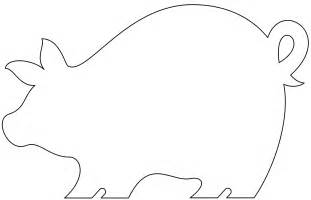 Pig Template For Preschoolers by Puzzle Template 6 Pieces Clipart Best