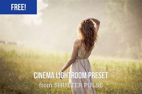 free lightrrom card template free cinema lightroom preset shutter pulse