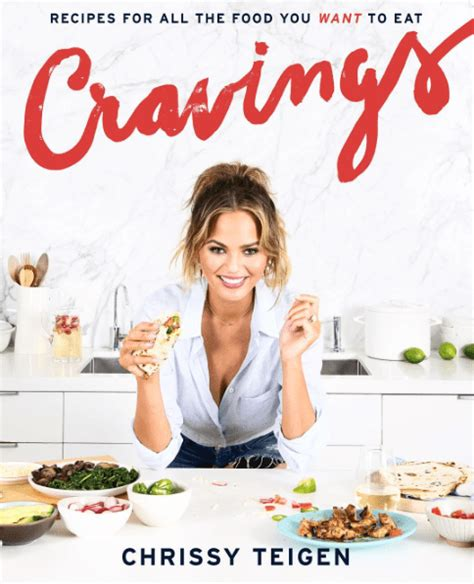 new era healthy cookbook recipes when you want healthy but food books chrissy teigen unveils cravings cookbook cover