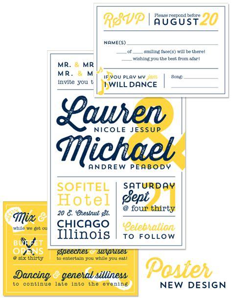 invitation design typography new design poster american wedding wisdom