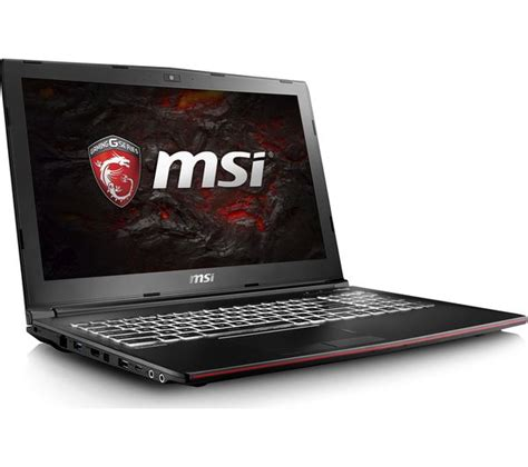buy msi leopard gp62m 7rd 15 6 quot gaming laptop black free delivery currys