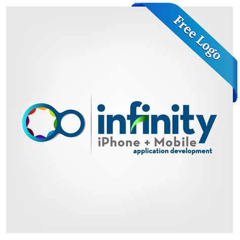 free logo design application free vector infinity iphone mobile application