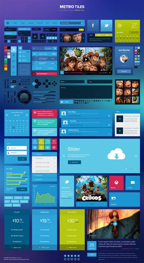 download pattern ui 15 best free metro style ui kits designmaz