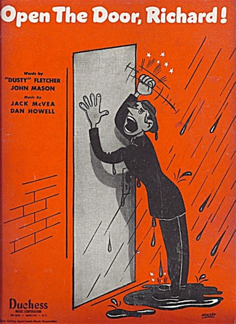 Open The Door Richard open the door richard 1947 holley cover sheet