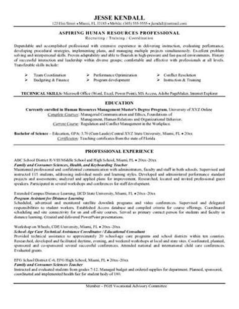 resume objective exles changing careers career change resume objective