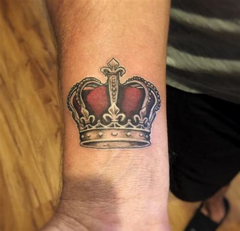 crown tattoo on wrist best 25 crown on wrist ideas on future