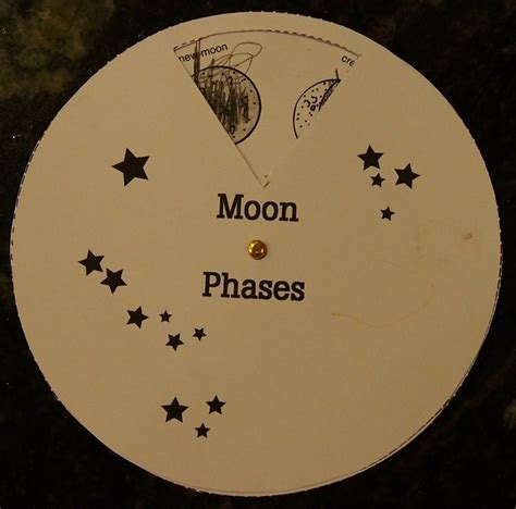 Turning Moon Phase Education Space Studies Pinterest