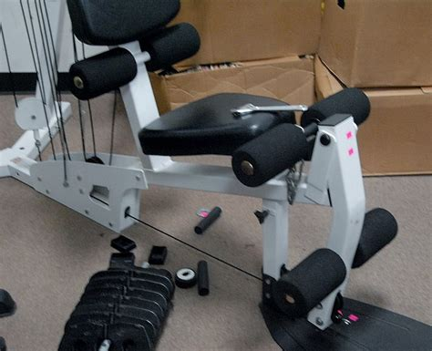 parabody 777 cable motion weight machine complete