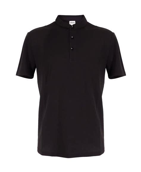 Polo Shirt Black armani collezioni armani collezioni black polo shirt