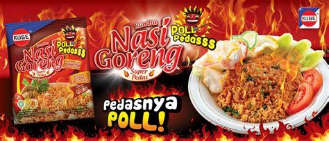 design banner nasi goreng nasi goreng poll pedas