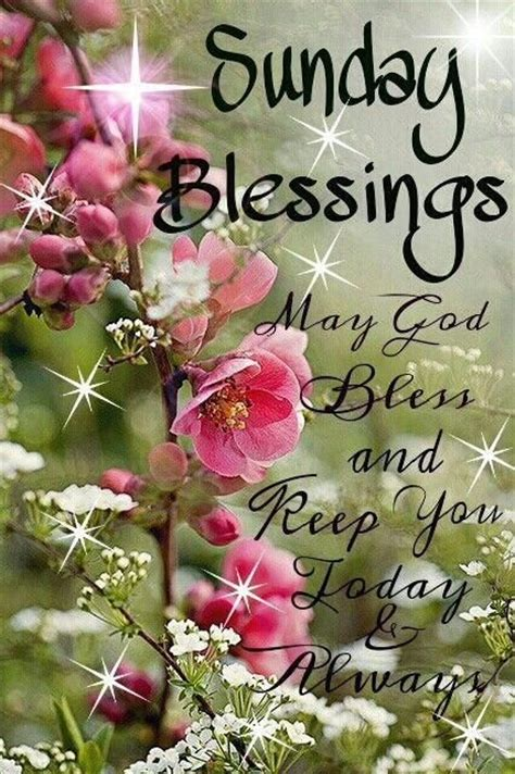 Sunday Blessings Pictures, Photos, and Images for Facebook