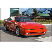 Red Toyota Supra MK3 On BBS RS  Zone