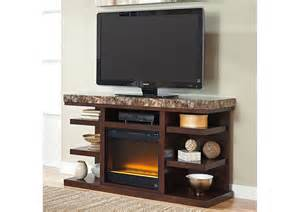large tv stands jarons kraleene large tv stand w led fireplace insert