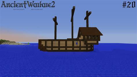 minecraft boat fix ancient warfare smp 20 ship improvements minecraft