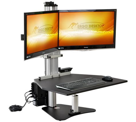 kangaroo electric elite workstation seated