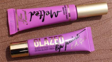 Harga La Lip Paint la glazed lip paint review a la mode