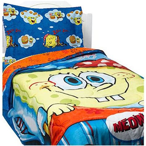 spongebob bed spongebob squarepants comforter set krabby patty dreams