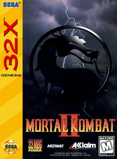 Play Mortal Kombat II Sega 32X online   Play retro games
