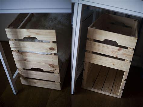 ikea crate ikea knagglig cat bed condo hack no extra tools parts