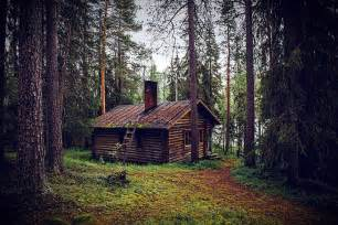 free photo hut forest seefeld log cabin free image