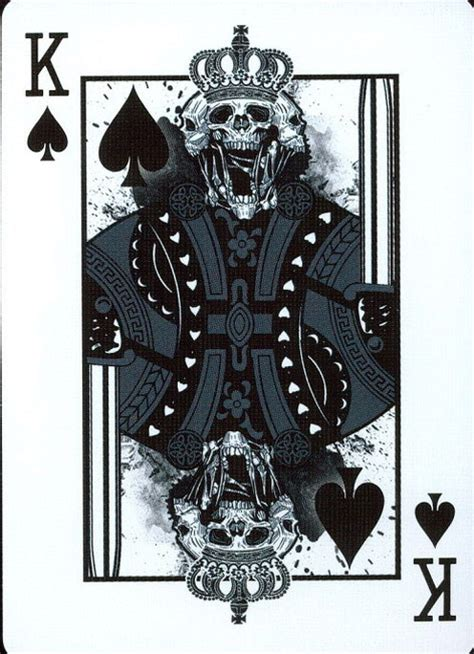 king of spades tattoo grimore king of spades cards king