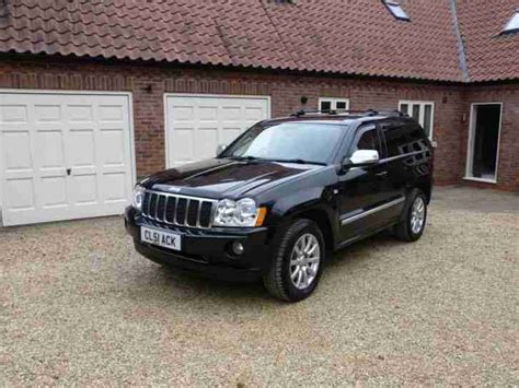 Jeep G Jeep 2006 G Overland Crd A Black Leather Sat Nav