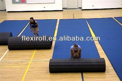 Cheap Cheer Mats by Flexi Roll Cheerleading Mat Cheer Mat Gymnastics Floor
