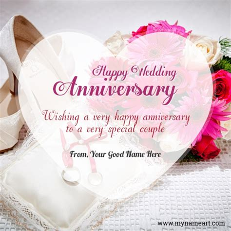 wedding anniversary greeting for greeting card wedding anniversary celebration image with