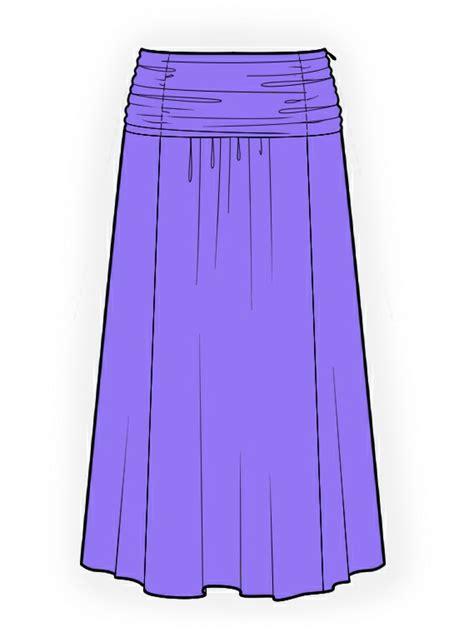 sewing pattern long skirt long skirt sewing pattern 4137 made to measure sewing