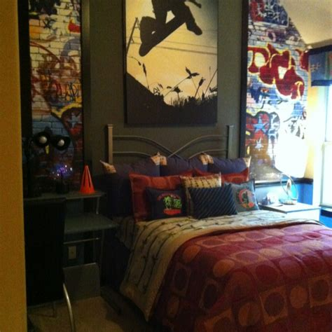 skateboard themed bedroom 37 best skateboard decorations for boys room images on