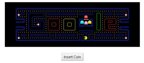 doodle do pacman retro network the one stop retro gaming community