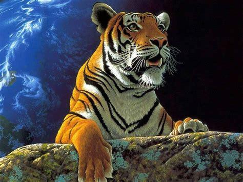 imagenes en 3d de tigres fondo pantalla tigre de bengala