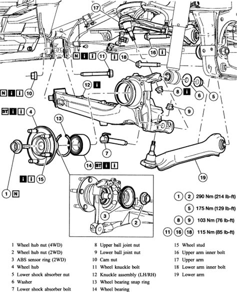ford escape rear suspension diagram 2006 ford truck expedition 2wd 5 4l efi sohc 8cyl repair