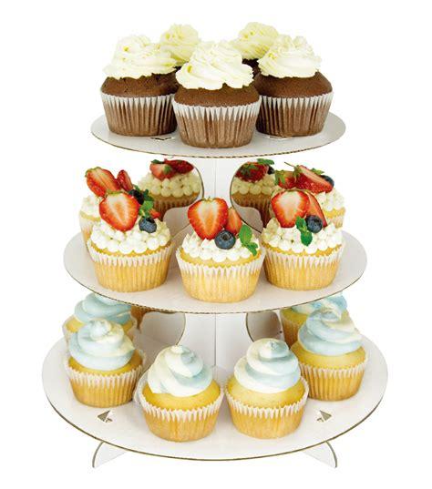 wilton 3 tier cupcake stand white joann