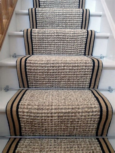 French Country Entryway Stair Runner Carpet Wool Hemp 7 5mx55cm Wholesale Carpets