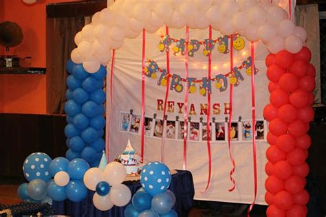 birthday decorations at home photos 1000 ideas for party hall decoration for birthday best
